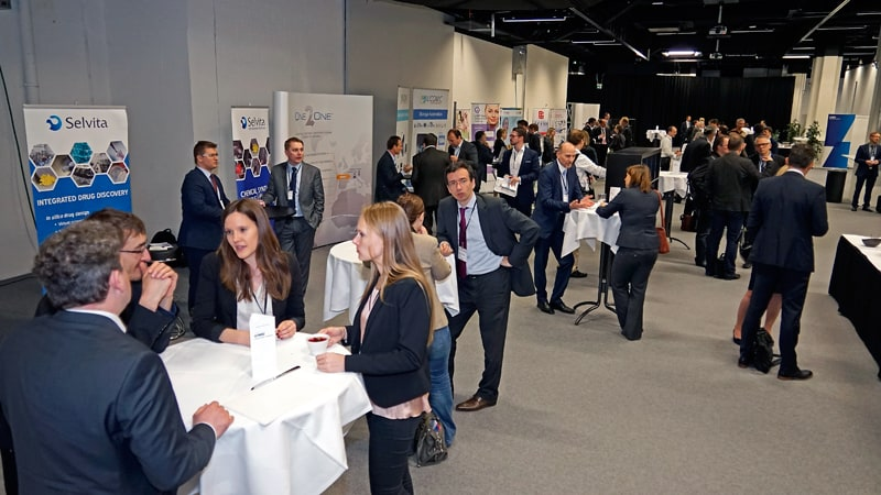 People on swiss biotech day