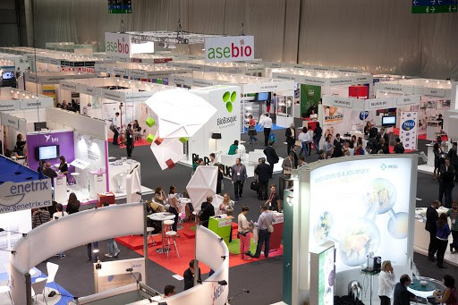BioSpain event stands
